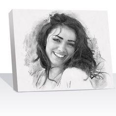 A sketch of your own photos Portrait Pictures, Pet Portraits, Family Portraits, Photos, Pencil Sketch Portrait, Pencil Art Drawings, Diana, Custom Pencils, Artist Supplies