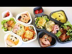 ▶ OXO BENTO BOX :「ディズニー弁当」の作り方 Disney lunch box - YouTube