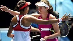 Johanna Konta & Andy Murray reach Australian Open...: Johanna Konta & Andy Murray reach Australian Open semi-finals #MilosRaonic…