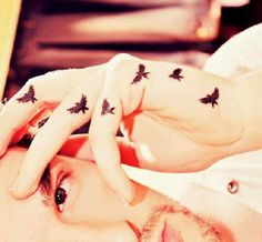 Pics For > Bird Tattoos For Men On Hand