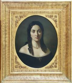 Theodor Aman-Portrait of Ana Davilla 1850s Fashion, Mona Lisa, Fashion Portraits, Artwork, Work Of Art, Auguste Rodin Artwork, Artworks, Illustrators