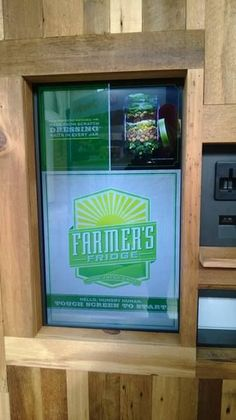 The Vending Machine Farmer's Market Makes it Easy to Eat Well #fruit #innovations trendhunter.com