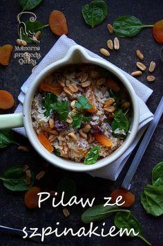 Kulinarne przygody Gatity: Pilaw ze szpinakiem i morelami