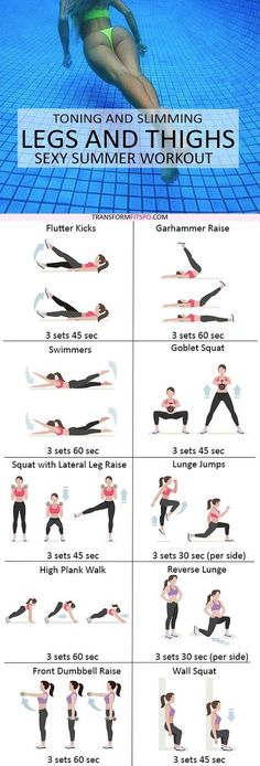 Gym & Entraînement : Repin and share if this workout gave you sexy beach legs! Read the post for all