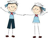 Free Vector Art, Image Now, Royalty, Sailors, Funny, Illustration, Royals, Funny Parenting, Illustrations