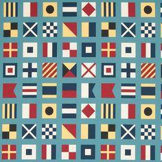 Warwick Fabrics : MARITIME, Colour LAGOON^