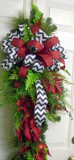 Hey, I found this really awesome Etsy listing at https://www.etsy.com/listing/197532295/christmas-swag-christmas-wreath-swag-red