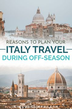 Learn why you should plan your Italy travel in winter and find popular off-season travel destinations in Italy in this article from an Italy travel expert! | Italy winter travel | Winter travel destinations in Europe | When to visit Italy | Italy travel tips Travel Tips For Europe, Travel Expert, Italy Travel Tips, Rome Travel, Travel Guides, Travel Destinations, European Road Trip, European Travel, Italy Winter