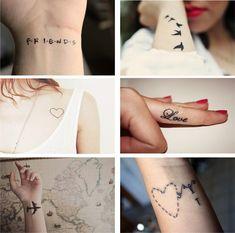 tatuagens femininas pequenas 13 Tatuagens Femininas Pequenas   Inspirações