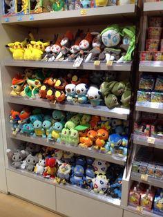 Pokemon Photos from Tokyo - Meloetta Axew Torchic Piplup Chikorita Squirtle Bulbasaur plush dolls