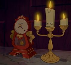 Not one word Lumiere!!