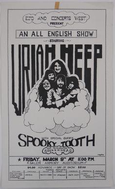 U R I A H H E E P T I C K E T S P A G E 1973