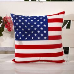 United States of America USA Flag Patriotic Patriots Marines Go Army Air Force Military Pillow Home Decor Patio BBQ Living Room Bedroom Pillow Insert: • Non-Allergenic •Machine or Dry Clean • Hand Washable •Quick Dry Resilient • Indoor / Outdoor Use •Ultra Strong Fibers • Long Lasting Durability • Wear & Tear Prevention •Water Resistant • Wrinkle Resistant • Shrinkage Resistant • Stretch Resistant • Abrasion Resistant • Tumble Dry Low •Low Iron •Made in U.S.A. • PC116 • Zippered