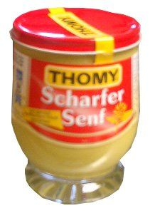 Thomy Hot Mustard in Jar (250 ml) >>> Click the iamge for more details  at this Dinner Ingredients board