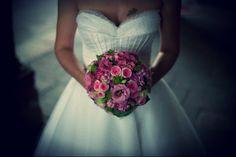 Bouquet sposa rosa & fucsia