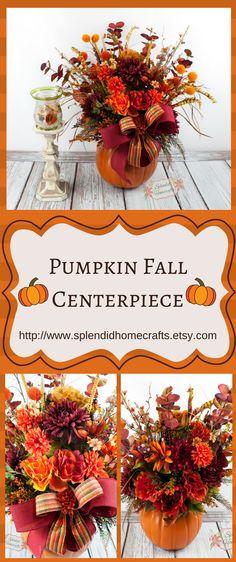 15 best pumpkin table decorations images seasonal decor autumn rh pinterest com