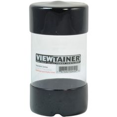 Viewtainer Storage Container 275Inch by 5Inch Black >>> Click image to review more details.