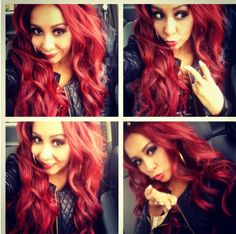Looove her hair. mines almost there!