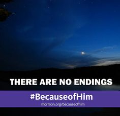 There are no endings #Because of Him