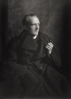 The Spy Who Loved Hunny - looking more like a secret agent than a writer of children's stories, this is a photo of A.A. Milne in 1914 by E.O. Hoppé