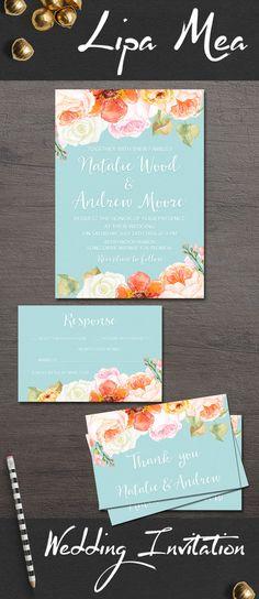 Australian native wedding invitation printable native bridesmade 21 stunning and mesmerizing turquoise room decoration ideas designs stopboris Gallery