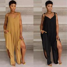 Plus Size Women S Halter Dresses Big Girl Fashion, 70s Fashion, Denim Fashion, Curvy Fashion, Women's Fashion Dresses, African Fashion, Plus Size Fashion, Womens Fashion, Fashion Fall