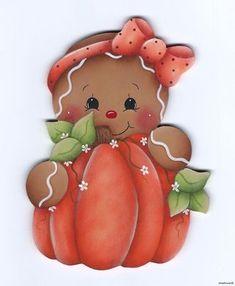 Gingerbread pumpkin