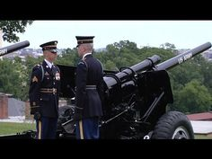 """ARLINGTON NATIONAL CEMETERY!  21 Gun Salute by """"The Old Guard"""", Memorial... 21 Gun Salute, Usa Doctor, National Cemetery, Memorial Day, Just Go, Health Tips, Beauty Hacks, Old Things, Guns"""