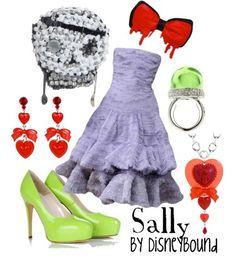 Disneybound-Sally-nightmare before christmas Disney Bound Outfits, Disney Inspired Outfits, Themed Outfits, Disney Style, Nerd Fashion, Disney Fashion, Fashion Outfits, Sally Nightmare Before Christmas, Casual Cosplay