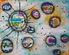 jz- this might be a good way to use up some of my gelli prints!  June 2013 Canvas Create Video