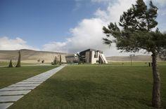 Azerkosmos bldg in Azerbaidjan by Nariman Architecture