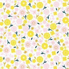 Stay Gold, Primrose in Cotton (organic)