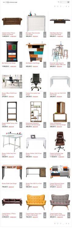 Soldes Kare Design promo meubles pas cher, profitez des Soldes Meubles et Déco Kare Design et bénéficiez de réductions jusqu'à -70%
