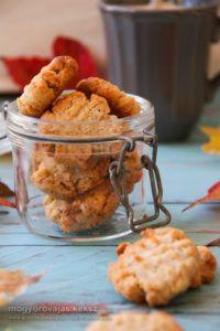 fahéjas mogyoróvajas gluténmentes keksz recept Cereal, Paleo, Gluten Free, Chicken, Meat, Breakfast, Food, Glutenfree, Hoods