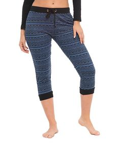 This Denim Geo Jogger - Women & Plus by Bottoms Up is perfect! #zulilyfinds