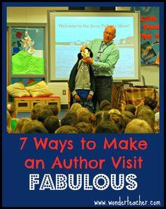 7 Ways to Make an Author Visit Fabulous