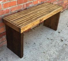 If You Are Looking For A Beginner Woodworking Project This DIY Wooden Bench Is Perfect Under 20 Can Buy The Supplies And Everything
