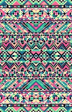 Pink Turquoise Girly Aztec Andes Tribal Pattern | iPhone 6s - Snap