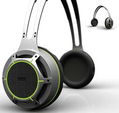 Green Noise Bluetooth Headset