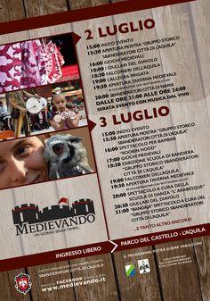 """Italia Medievale: """"Medievando. Un giorno senza tempo"""", terza edizione"""