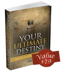 """you reed book: """"Your Ultimate Destiny"""""""