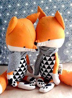 Les renards enchantés de Lesne sur http://www.thetrendygirl.net