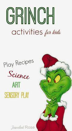 Creative & FUN Grinch Activities for Kids