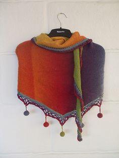 Ravelry: waterdogfan's Kauni shawl