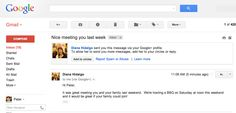 Google+ Is Getting Harder And Harder To Avoid.  Google plus non è un social network ma uno strato sociale su cui l'esperienza Google si costruisce. Dalla comunicazione (email) alle relazioni personali al consumo di contenuti multimediali (youtube), ogni aggiornamento va nella direzione di rafforzare questa onnipresenza, probabilmente a discapito della volontà degli utenti. L'articolo di ReadWrite analizza questo fenomeno.
