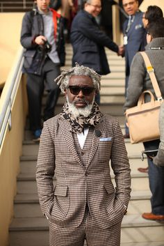 Pitti Uomo (Michael, day by day) O ALFAIATE LISBOETA