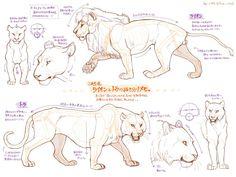 """箱舟こみちさんのツイート: """"ライオンとトラの違いメモ。 http://t.co/0OiNARguVi"""""""