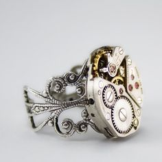 omg Steampunk Ring