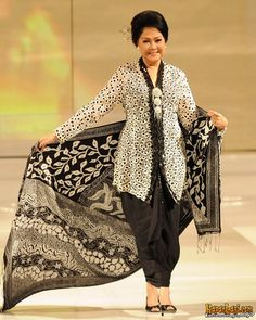Black and white Kebaya love it.