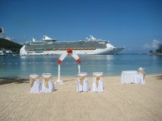 1000 images about beach weddings on pinterest beach for Royal caribbean cruise wedding